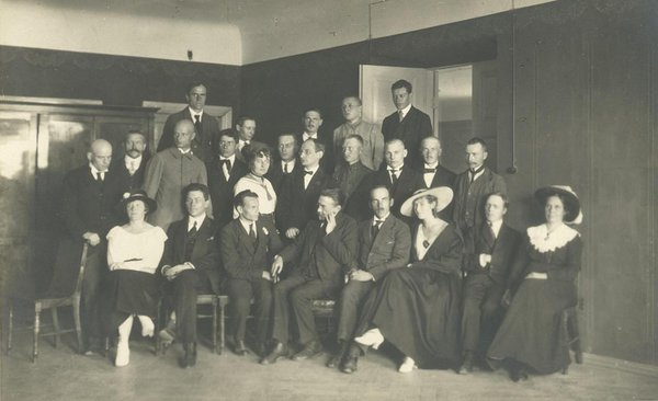 Participants of the first Congress of Estonian Writers. Photo: Estonian Literary Museum